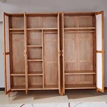 良匠缘.北美风情 H2008#3门衣柜 北欧实木白色衣柜 地中海田园木质衣橱