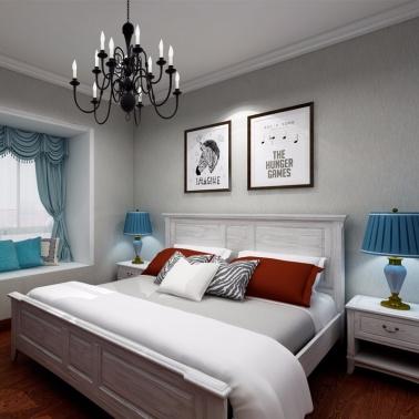 【澳玛.珞美系列】——三房两厅28件套【简美风格】720度VR全屋设计案例展示