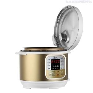 Midea美的 MY-CS5022电压力锅单胆正品饭煲智能电高压锅5L